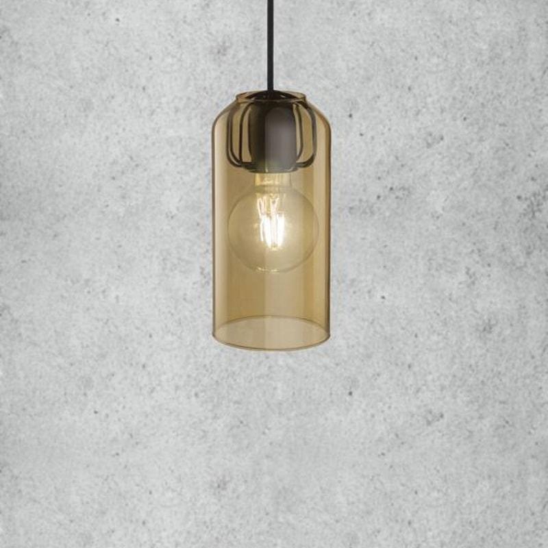 Welp Amberkleurige Glazen Lampenkap Kopen? Ø12cm TJ-76