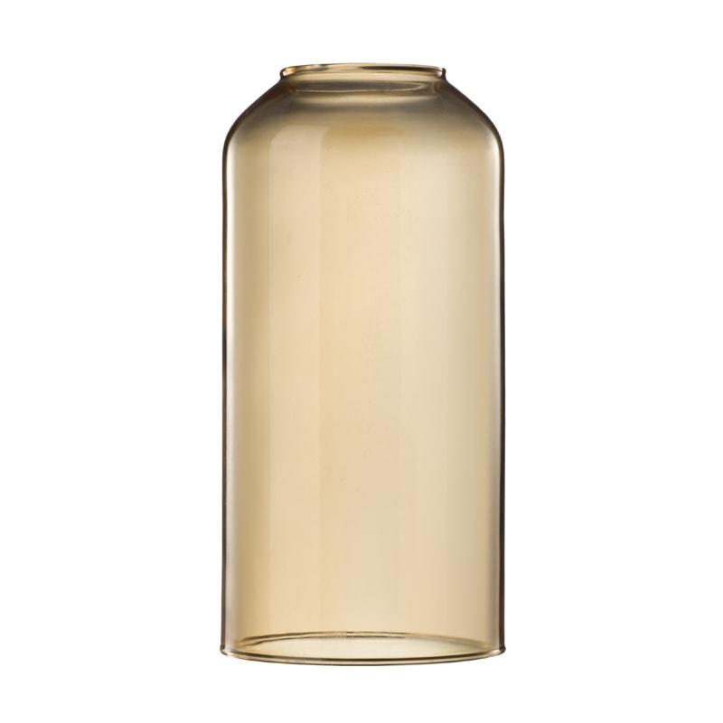 amberkleurige glazen lampenkap kopen? Ø12cm