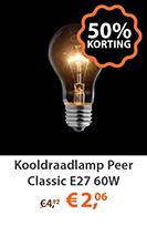 Kooldraadlamp Peer Classic e27