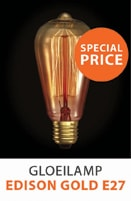 Gloeilamp Edison Gold E27 40W