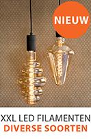 Nieuwe XXL lampen