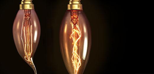 Kaars lampen